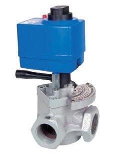 Elektrický servomotor pro směšovací armatury řady 1000 a 2000