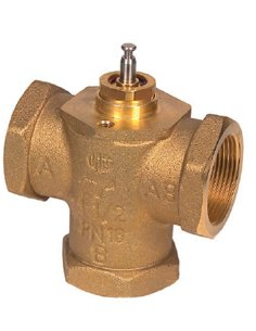 Třícestné ventily závitové MK