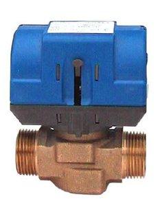 Zónové dvoucestné ventily s elektickým pohonem