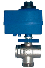 Motorizovaný kulový ventil VS 3 - cestní